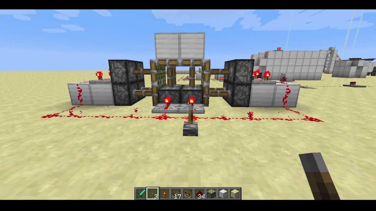 2x2 Vertical Jeb Door - Cult of Redstone Minecraft & 2x2 Vertical Jeb Door - Cult of Redstone Minecraft - YouTube