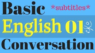 Learn Basic English Conversation | Improve English Listening Skills | Native Speaker