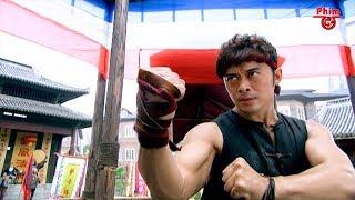 Võ Sĩ Thái Tử Chiến Cùng Kungfu Trung Hoa Tại Đại Hội Võ Đài   Mã Vĩnh Trinh   Clip Hay