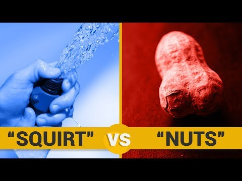 SQUIRT VS NUTS - Google Trends Show