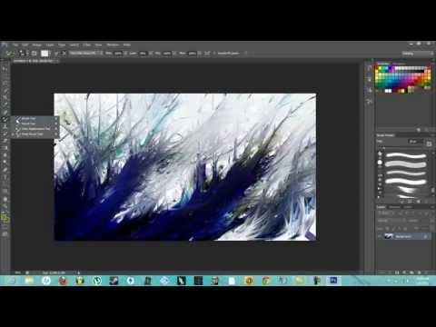 Easy Abstract Art(Photoshop CS6)