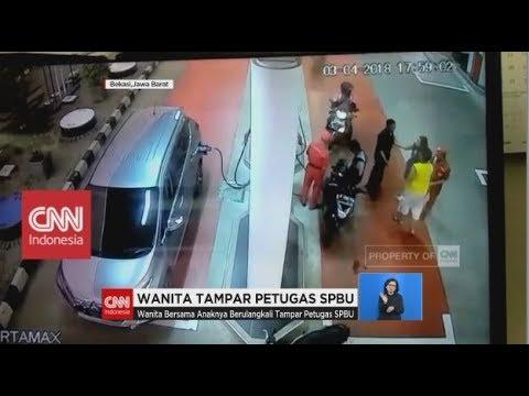 Wanita Tampar Petugas SPBU Mp3