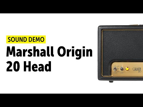Marshall Origin 20 Head Sound Demo (no talking)