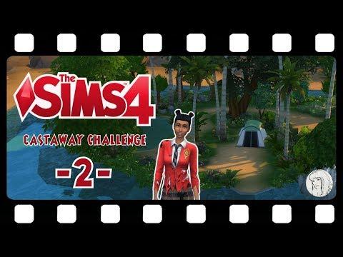 CASTAWAY CHALLENGE ★ 2: Hammer vor'n Kopp ★ Let's Play DIE SIMS 4
