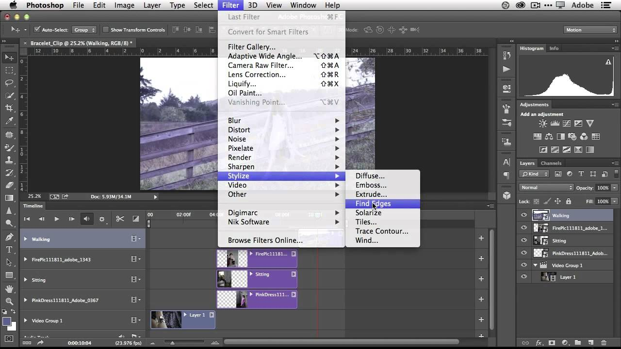 how to create a video in photoshop cc
