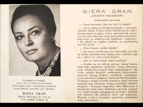 U Wiery Gran, polskiej pieśniarki.  Sierpień 1991 roku  -  część 3.