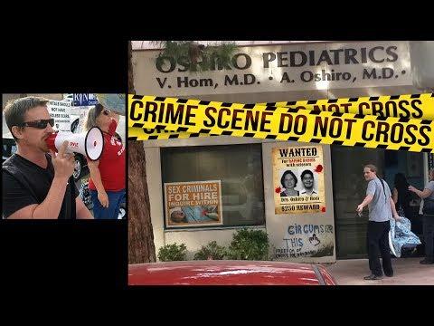 Protest Medical Fraud & Child Abuse at Oshiro Pediatrics