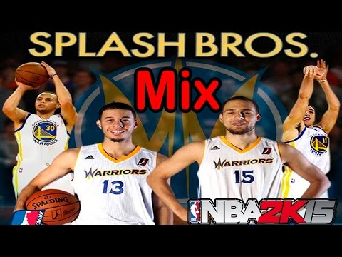 NBA 2K15 Mix - Stephen Curry Vs Seth Curry...