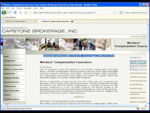 Worker Compensation Las Vegas Nevada - Insurance -