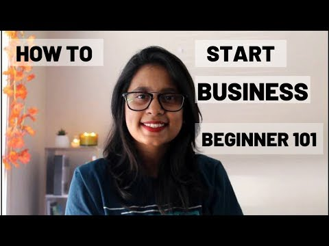 HOW TO START A BUSINESS- BASIC GUIDELINES FOR BEGINNERS!