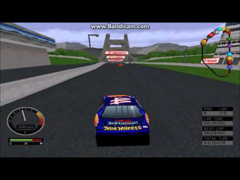NASCAR Road Racing (PC) Gameplay (Kyle Petty) (Bridgeport Speedway) (5 Laps)