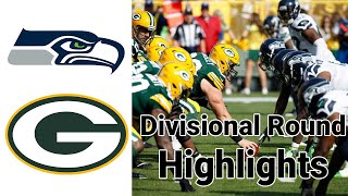 Seahawks vs Packers Division Round Highlights | NFL Playoffs 2019