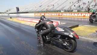 bud yoder goes 6 98 and 6 97 at the 2014 nhdro pro street class