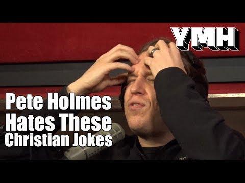 Pete Holmes on Christian Jokes - YMH Highlight