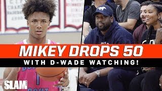 Mikey Williams DROPS 50 in front of Dwyane Wade and INSANE CROWD!