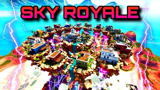 SKY ROYALE - Fortnite Sky Wars X Battle Royale minigame trailer (Map code in desc)