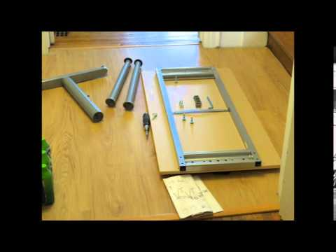 Ikea Galant Desk Time Lapse Embly