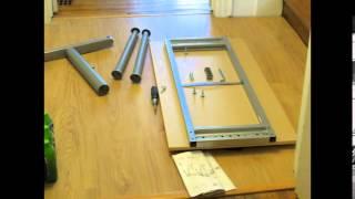 Ikea Galant Desk Time-lapse Assembly