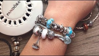 Pandora Design With Me + How to Twist Leather Bracelet