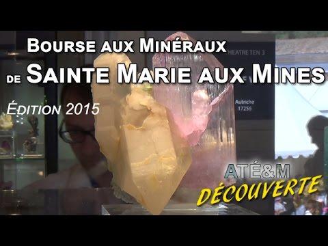 Bourse aux Minéraux Sainte Marie aux Mines 2015 - ATÉ&M - ARNAUD THULY