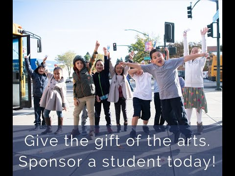 Give the Gift of the Arts, Sponsor a Student