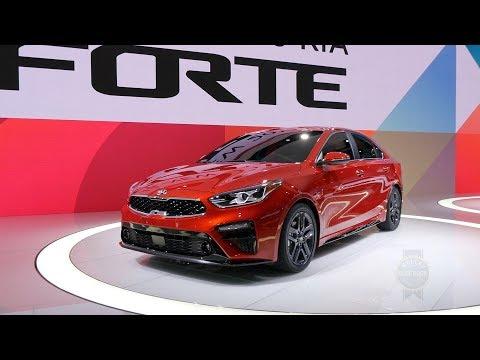 2019 Kia Forte 2018 Detroit Auto Show