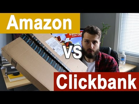 Amazon.com vs. Clickbank - What's The Best Affiliate Network?