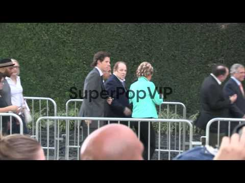 Anne Kopelson, Arnold Kopelson and Les Moonves arrive at ...