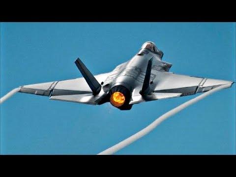 F-35 Lightning II Aerobatic Display | Paris Airshow 2017 Debut | AFTERBURNER / Takeoff & Landing