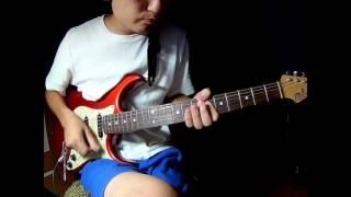 """最近はまっているtoconomaの""""relive""""のギターを耳コピしました。"""