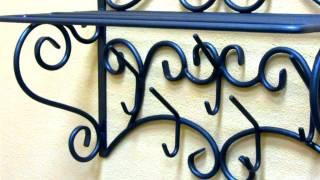 Металлическая настенная вешалка для одежды в прихожую купить недорого в Днепропетровске(, 2017-04-06T11:17:04.000Z)