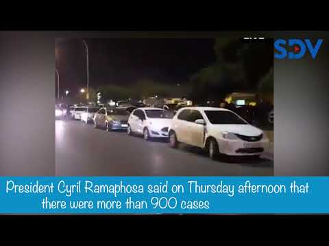 "Video allegedly showing defiant S.Africans in the streets dancing & singing ""Coronavirus' chorus"