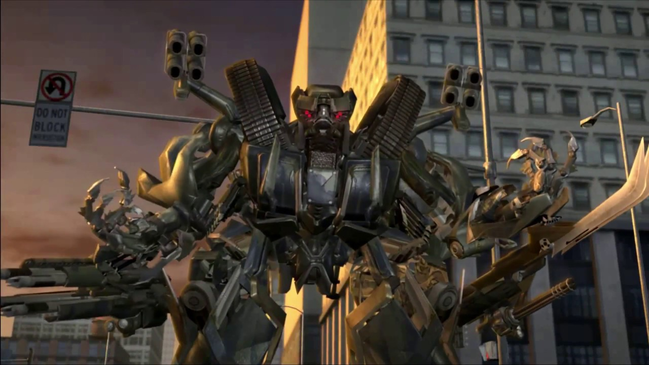 Transformers: The Game All Boss Fights+Endings