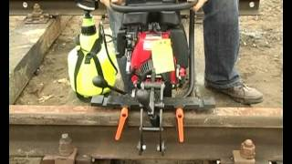 Wiertarka do szyn kolejowych model PRO 36 RH