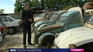Citroen 2cv épaves, France 3 Poitou.avi
