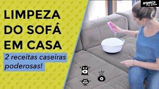 2 Receita poderosa Para Limpar o Sofá em Casa