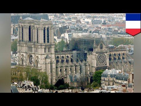 法國預計5年內重建巴黎聖母院