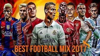 Best Football Skills Mix 2017 ● Ronaldo ● Neymar ● Messi ● Ozil ● Dybala & More | HD