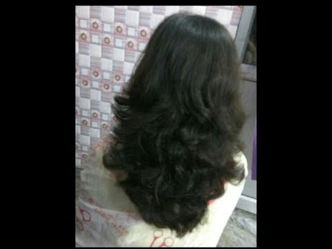���पने ���ेयर्स ���र ���ैसे ���रे Step Cut How To Do Own Step Cut
