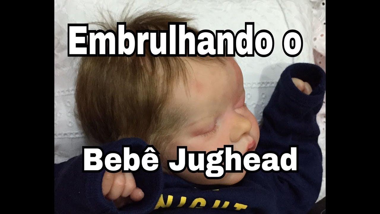 Embrulhando o Bebê Jughead – Box Packing Reborn