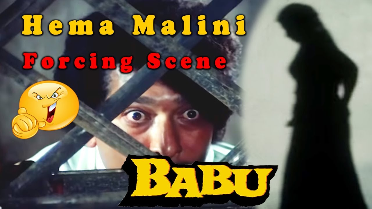 Download Hema Malini Forcing Scene from Babu || Bollywood Action Hindi Movie