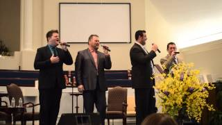 Omega Quartet sings I Rest My Case At the Cross