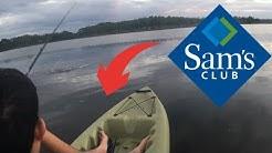 Sams club Lifetime Weber 132 Fishing Kayak Pontoons