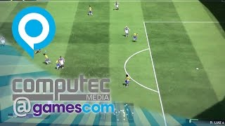 PES 2015 PS4-Gameplay | Gamescom 2014