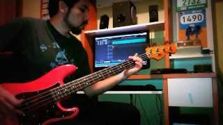 "AC/DC ""Satellite Blues"" Bass Cover"