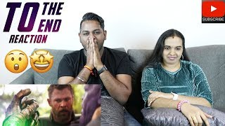 Avengers Endgame | To the End Reaction | Malaysian Indian Couple