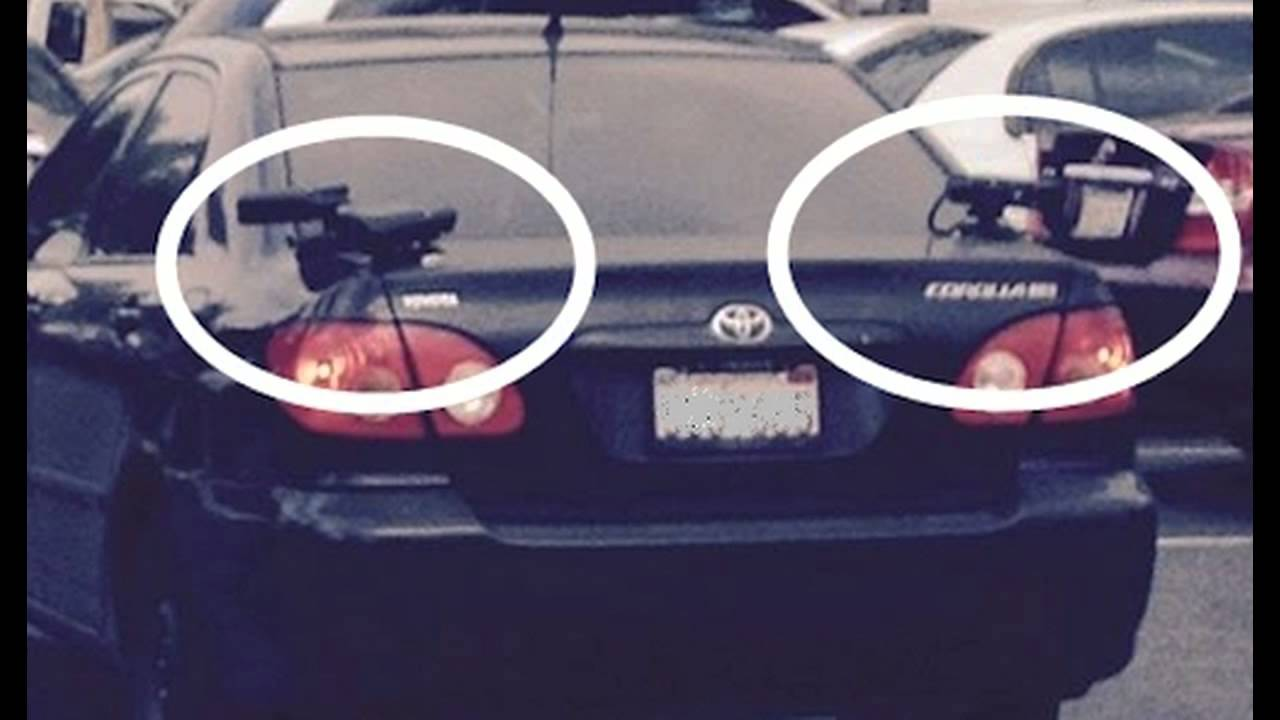 WTF! License Plates Being Scanned In Walmart Parking Lot ... 2015 Police Charger