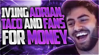 Yassuo | 1V1ING ADRIAN RIVEN, TACO AND FANS FOR MONEY