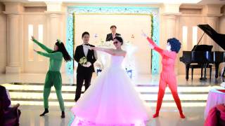 이화예식장 친구들과 축가 이벤트 댄스 엽기 동영상,라빈…