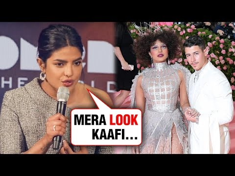 Priyanka Chopra Finally REACTS On Her Met Gala 2019 OUTFIT Mp3
